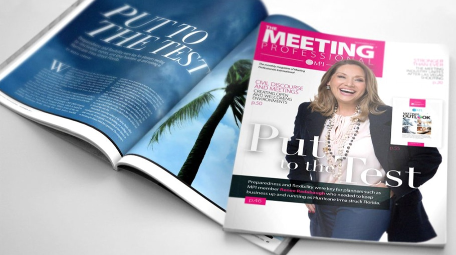 Renee on the Cover of MPI Magazine