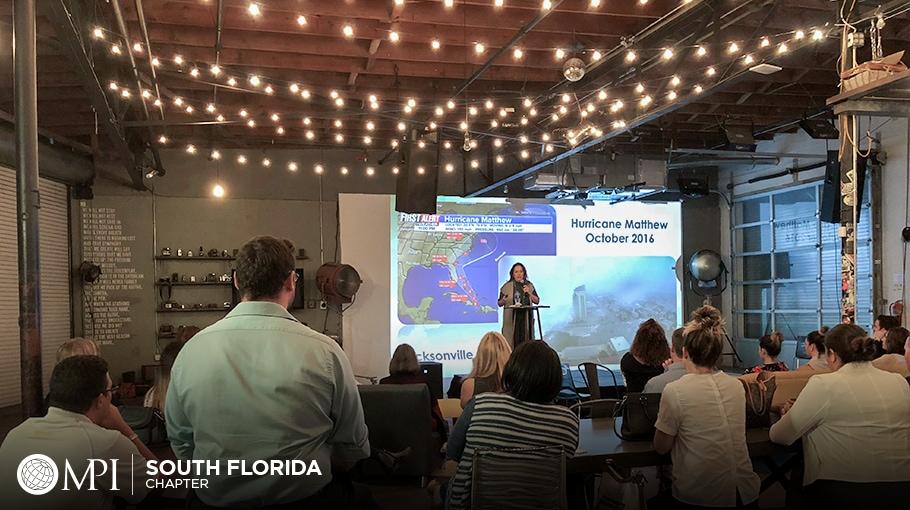 Renee Radabaugh presents at MPI South Florida